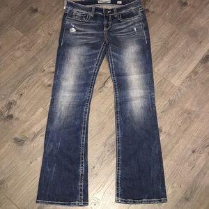 BKE denim jeans.  29 x 33-1/2 bootcut
